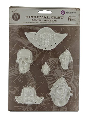 Prima Marketing Relic & Artifacts Archival Cast Embellishments-Archangels by Prima Marketing