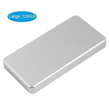 Garsent Disco Duro Externo, Micro USB 3.0 SSD Datos portátil Disco ...