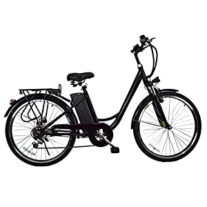 New Breeze 26 Inch Wheel 250W Motor Electric 6 Speed LED light Bike Bicycle E Bike With 36V/10A Lithium Battery