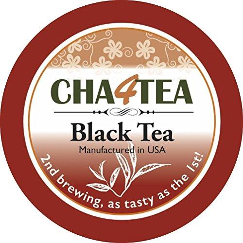 Cha4TEA Black Tea K Cups for Keurig K-Cup, 18 Count