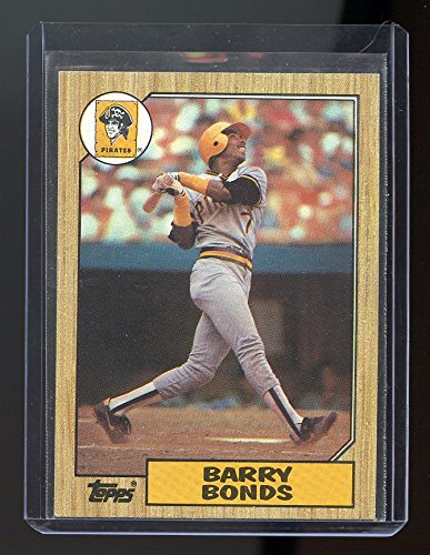 - 1987 Topps #320 Barry Bonds RC Rookie Pirates