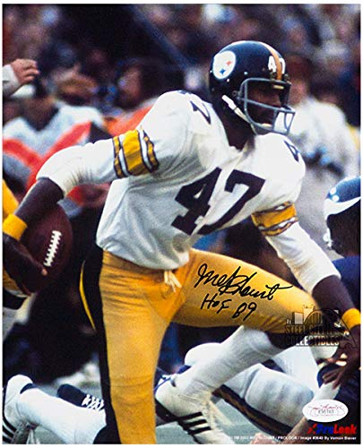 pretty nice 6fe8f 4e88b Amazon.com: Mel Blount Autographed HOF Pittsburgh Steelers ...