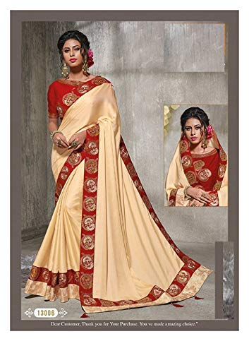 Saree Lavoro Abbigliamento Dress Firmata Sari Seta Pesante Indian Bollywood Camicetta In Con Etnico Design Indiano Fresco Di Raso 7281 dwwPqB