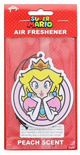 - Princess Peach Air Freshener | Licensed Accessories | Perfect Accessory for Car, Home, Office | Peach Scent ()
