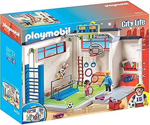 PLAYMOBIL City Life Gimnasio, a Partir de 5 Años (9454): Amazon.es ...