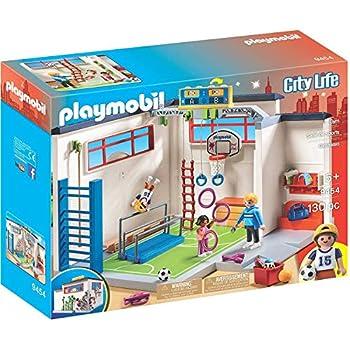 Amazon.com: Playmobil Escuela Gimnasio Playset Set de ...