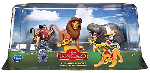 Exclusive Figure Set (Disney The Lion Guard The Lion Guard Exclusive PVC Figure Set)