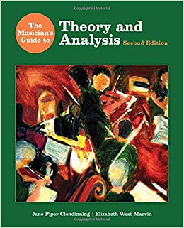 the musicians guide to theory and analysis workbook answers