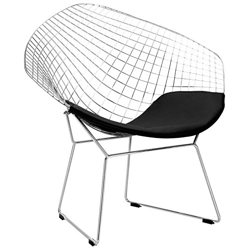 Poly and Bark Bertoia Style Diamond Chair 51G3yJLIYqL