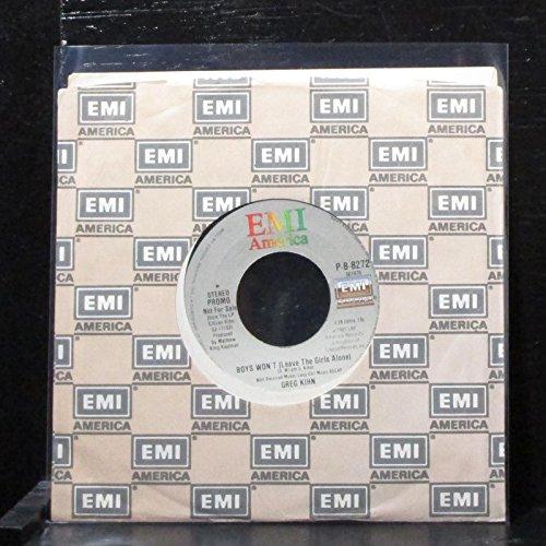 Greg Kihn - Boys Won't (Leave The Girls Alone) - 7