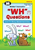 """""""WH"""" Questions Software Program - Level 2: Story-Based Activities - Super Duper Educational Learning Toy for Kids"""