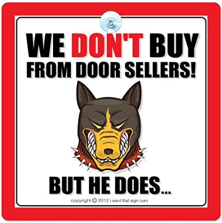 DOOR SIGN DO NOT KNOCK DELIVERIES BEWARE OF THE DOGS PERSONALISED SIGN