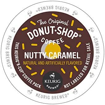 The Original Donut Shop Coffee Nutty Caramel 12 Count K-Cups