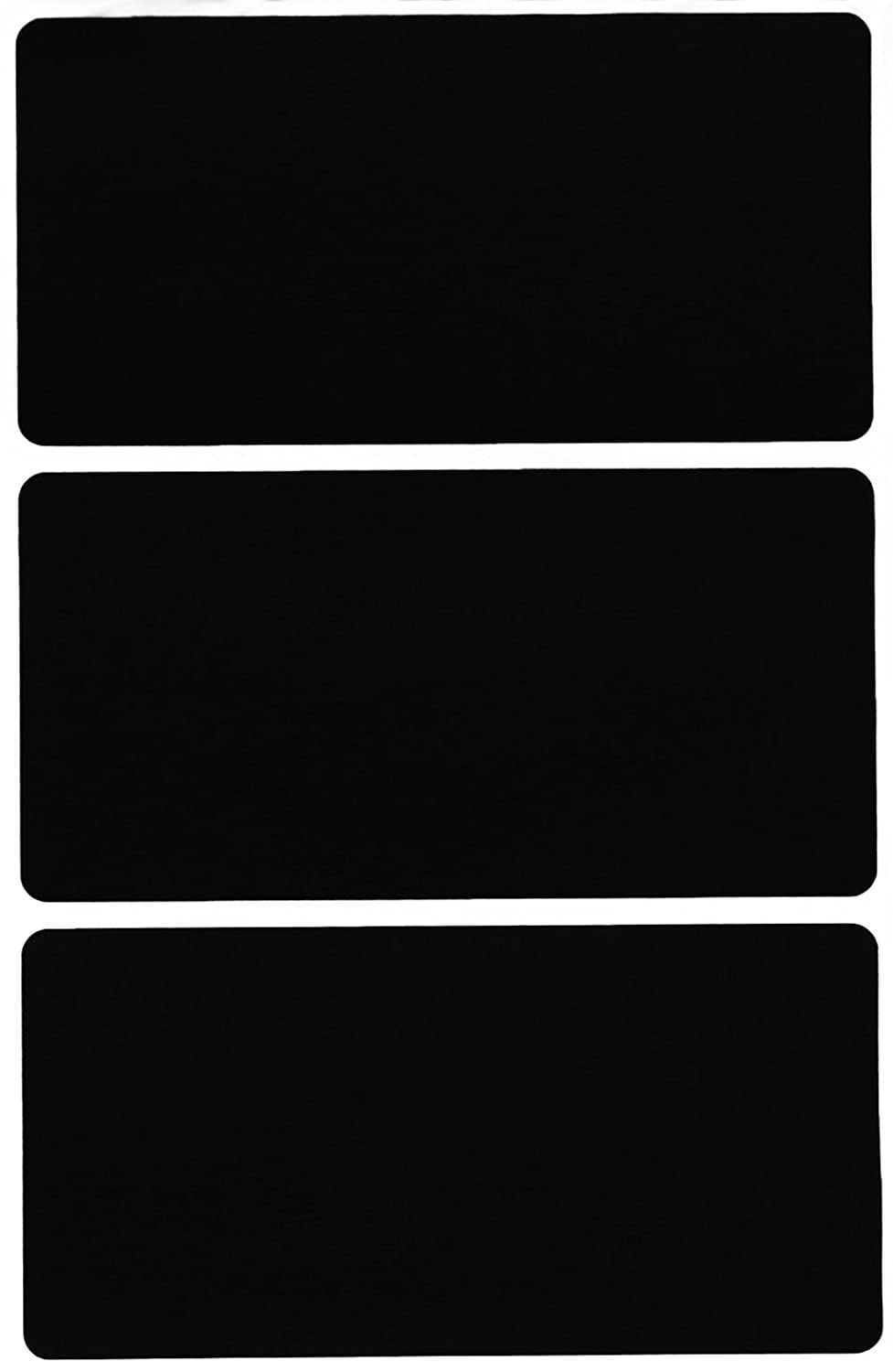 Rectangular labels blank stickers 4