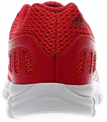 Adidas Originali Mens Breeze 101 2 M Scarpa Da Corsa Rosso Vivo / Bianco / Rosso Università