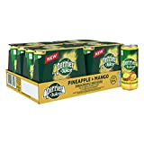 Perrier & Juice Sparkling Pineapple & Mango Beverage, 330mL can, 24 Count
