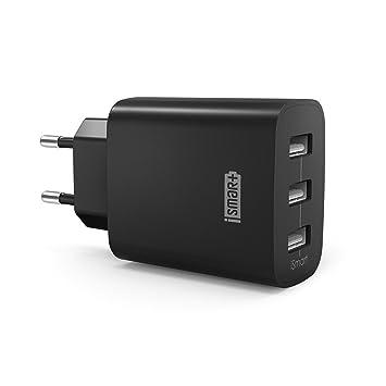 RAVPower Conector, 30 W, 3 puertos negro: Amazon.es: Informática