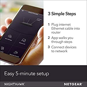 NETGEAR Nighthawk X4S Smart WiFi Router (R7800) - AC2600 Wireless Speed (up to 2600 Mbps) | Up to 2500 sq ft Coverage…
