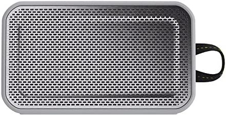 Skullcandy Barricade XL Bluetooth Wireless Portable Speaker, Waterproof and Buoyant, Impact Resistant, 10-Hour Battery Life and 33 Foot Wireless Range, Gray Hot Lime