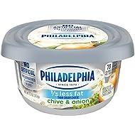 Philadelphia Chive & Onion Cream Cheese Spread (7.5 oz Tub)