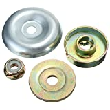 4pcs Replacement Metal Gearbox Blade Nut Fixing Kit For Strimmer Brushcutter for Lawn Mower Trimmer Brush Cutter(4pcs/set)