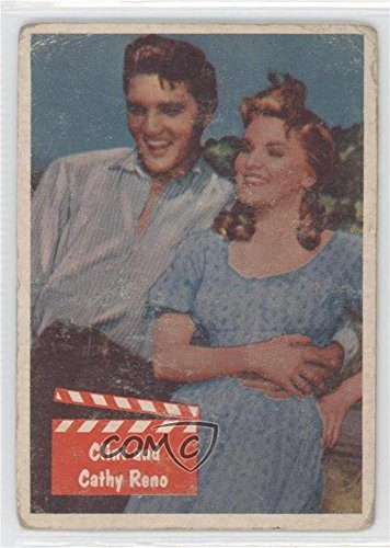 Clint and Cathy Reno COMC REVIEWED Poor to Fair (Trading Card) 1956 Topps Bubbles Elvis Presley - [Base] #47 by...
