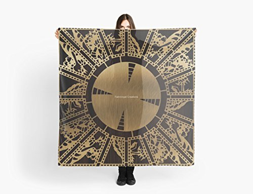 [Hellraiser Lament Configuration Side A Multi-Purpose Scarf, Shawl, Wrap, Table Cloth] (Hellraiser Woman Costume)