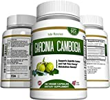 95% HCA Garcinia Cambogia Pure Extract - Potent Weight Loss Supplement and Appetite Suppressant, Made in the USA, FDA Approved Facility, 180 Capsules - 1,400mg Per Serving