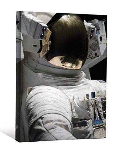 JP Londres cnv0066de astronauta traje casco reflectante) Shuttle ciencia ficción galería decoración de la pared, 2'x...