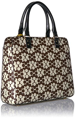 Flower Textured Jeanie Bag Kiely Chocolate Wave Orla Vinyl 5tH4qwX
