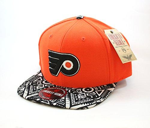 American Needle NHL Philadelphia Flyers Wool Blend Cap with Patterned Visor Adjustable Cap ()