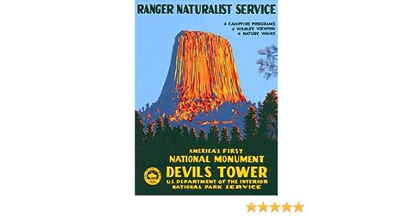 CafePress Devils Tower 3/&Quot; Lapel Sticker Square Sticker 924879842 48 Pk