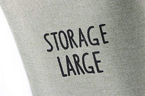 DSHUJC Panier À Linge Coton Linge Sale Vêtements Panier Jouets Débris Collation Panier De Rangement Beige 36 * 26 * 40 CM
