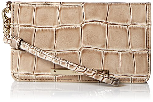 Brahmin Debra Wallet, Beige, One Size