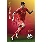 """FC Liverpool - The Reds - Soccer Poster / Print (Coutinho #10) (Size: 24"""" x 36"""")"""