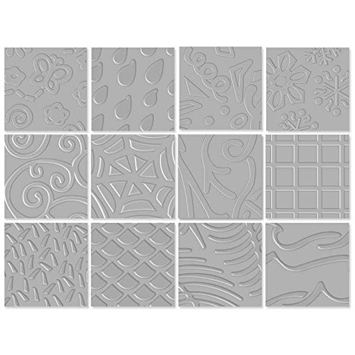 Fiskars Texture Plate Assortment II, 6 Pack (12-56597097) (Texture Set)