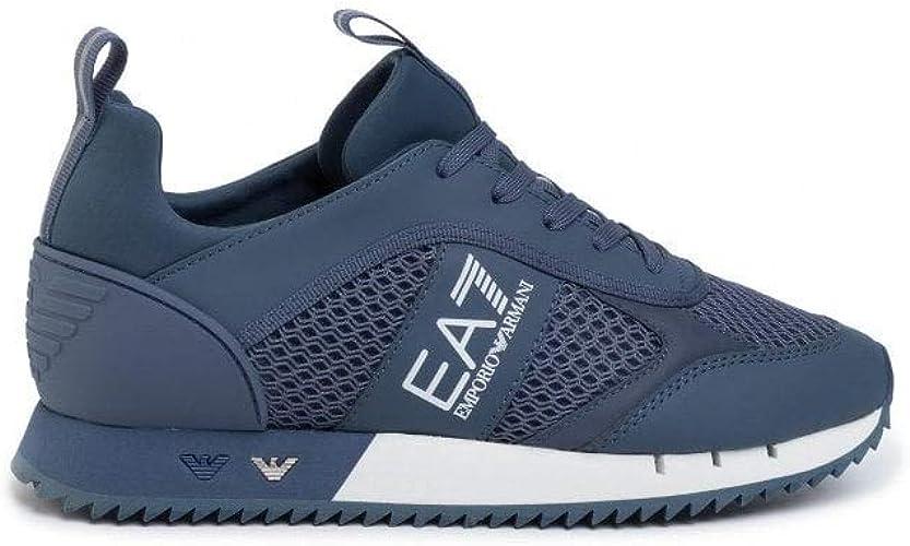 Emporio Armani EA7 Blue Sneaker Trainer