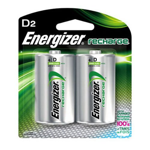 Energizer Recharge Universal Rechargeable Batteries