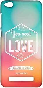 جراب هاتف Macmerise All You Need Is Love Sublime لهاتف Xiaomi Redmi 4A