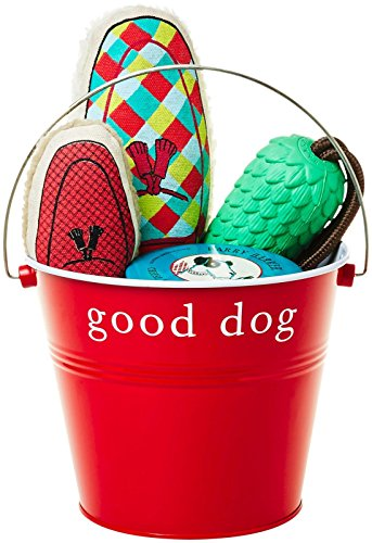 UPC 849031010066, Harry Barker The Furry Friends Bucket, Red, One Size