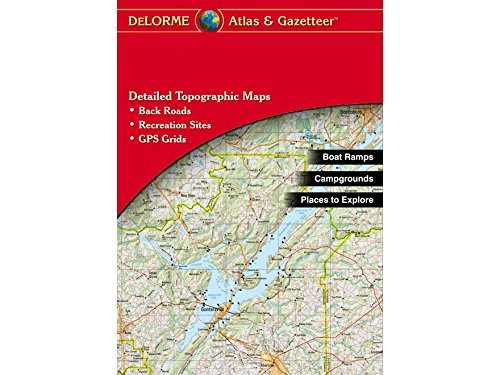 Price comparison product image DeLorme Atlas & Gazetteer Paper Maps- Oklahoma (AA-008800-000)