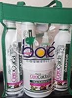 Shampoo 12 oz Rinse Balsam 12oz Tratamiento 16 Crema de peinar 8 oz Ampolla 20 ml