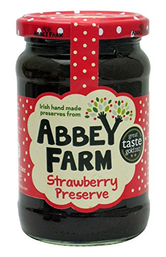 (Abbey Farm Fruit Preserve, Strawberry, 12 Ounce)