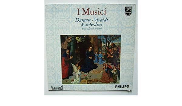 I musici DuraSec ante de Vivaldi manfr edini [vinilo LP/Tocadiscos ...