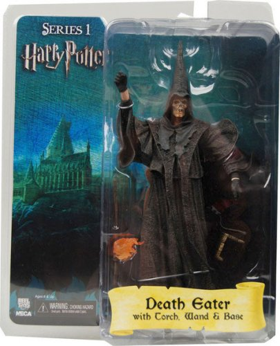 Harry Potter Death Eater With Torch, Wand and Display Base Action Figure neca NECA-HP-HP01-49103