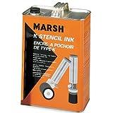 Marsh Gallon of Black Stencil Ink, (STMA46)