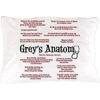 CafePress Greys Anatomy Standard Size Pillow Case 20x30 Pillow ...