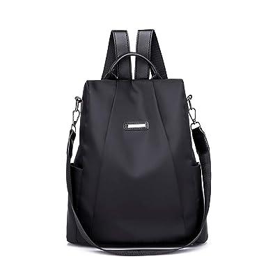 Women Lady Oxford Cloth Backpack Anti-theft Satchel Shoulder Bag School Rucksack