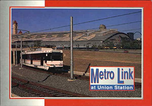 Metro Link At Union Station St. Louis, Missouri Original Vintage Postcard
