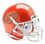 Schutt NCAA Oklahoma State Cowboys Collectible Alt 7 Mini Helmet, Pearl Orange